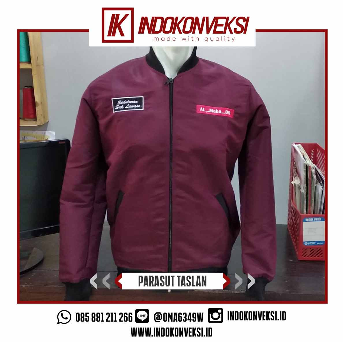 Custom Jaket Formal Di Jogja