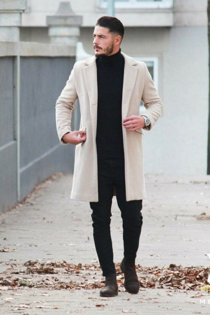 Overcoat, Sumber : Pinterest